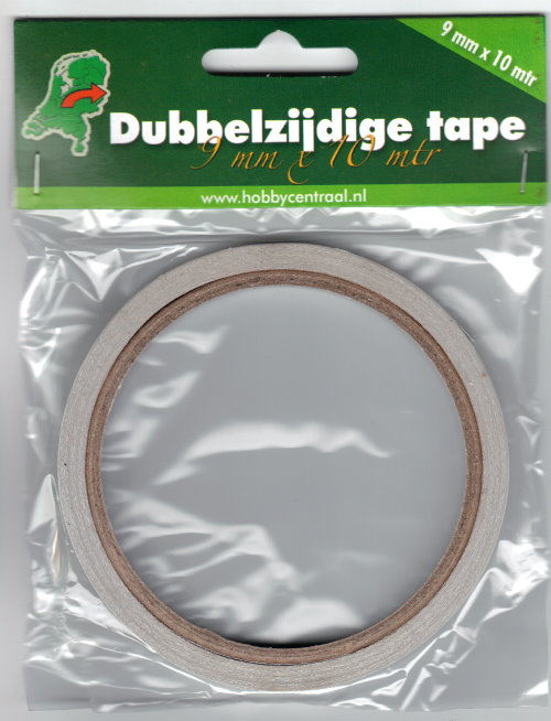 doppelseitiges klebeband 9 mm x 10 mtr tape f r. Black Bedroom Furniture Sets. Home Design Ideas